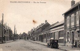 VILLERS BRETONNEUX  -  Rue Des Tavernes - Villers Bretonneux