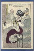 CPA Mille Prostitution Femme Girl Women érotisme Non Circulé Risque Champagne - Mille
