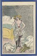 CPA Mille Prostitution Femme Girl Women érotisme Non Circulé Risque - Mille