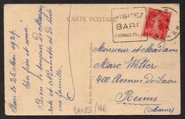 BARR - ALSACE / 1927 OBLITERATION DAGUIN SUR CARTE POSTALE / COTE 10.00 EUROS (ref LE2494) - Elsass-Lothringen