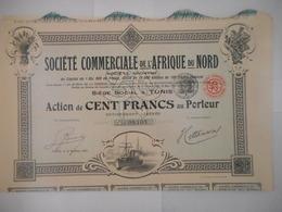 Societe Commerciale De L'AFRIQUE Du NORD  TUNIS - Afrique