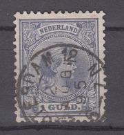 NETHERLANDS 1891-1893 - Queen Wilhelmina - 1891-1948 (Wilhelmine)