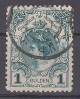 NETHERLANDS 1899-1905 - Queen Wilhelmina With Thick Value Number - Periodo 1891 – 1948 (Wilhelmina)