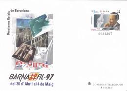 España Sobre Entero Postal Nº 39 - Enteros Postales