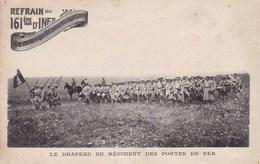 Carte De Franchise Spécifique  Du 161 Regiment D'infanterie - Marcophilie (Lettres)