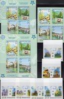 50 Years EUROPA Lao 1973/8B,Bosnia 339/2B,VB+Bl.13B ** 250€ Stonehenge Rom Trier Knossos Lom Ss Blocs Sheet Bf CEPT - Laos