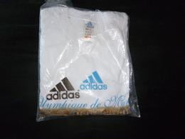 TEE SHIRT NEUF ADIDAS XL  FOOT  256 256B  FOOTBALL VELODROME  OM OLYMPIQUE DE MARSEILLE - Football