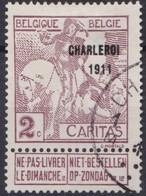 Belgie  .   OBP   .     102      .         O   .   Gebruikt  .   /    .   Oblitéré - 1910-1911 Caritas