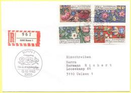 GERMANIA - GERMANY - Deutschland - ALLEMAGNE - 1985 - Für Die Wohlfahrtspflege  - FDC - Bonn - Einschreiben - Registered - [7] Repubblica Federale