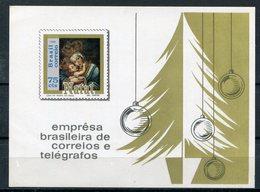 19690- BRASIL - NATAL- NOEL- S.S.  1 VAL.  M.N.H.- LUXE !! - Brazil