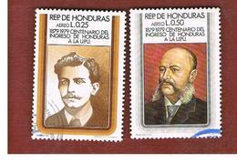 HONDURAS   - SG 965.966   - 1979 CENTENARY  U.P.U. - USED - Honduras