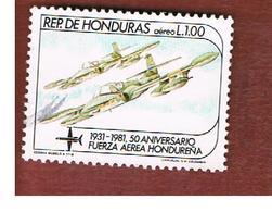 HONDURAS   - SG 1007   - 1983  AIR FORCE: CESSNA DRAGONFLY  - USED - Honduras