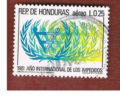 HONDURAS   - SG 1016   - 1983  INTERN. YEAR DISABLED  - USED - Honduras