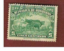 HONDURAS   - SG 431   - 1943  CATTLE  - USED - Honduras
