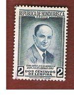 HONDURAS   - SG 552   - 1956  J. LOZANO DIAZ - USED - Honduras