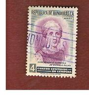 HONDURAS   - SG 554   - 1956  DE ESTRADA PALMA        - USED - Honduras