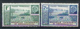 NOUVELLE-CALEDONIE -  Yv. N°  193,194  ** MNH  Pétain  Cote  1,85 Euro   BE 2 Scans - New Caledonia