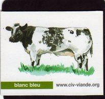 Magnets Magnet Viande Org Vache Blanc Bleu - Animals & Fauna