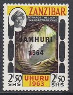 "Zanzibar 1964 - Independence Issue Of 1963 Overprinted ""JAMHURI 1964"" -  Mi 300 ** MNH - Zanzibar (...-1963)"