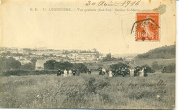 Angoulême-Gare -Station -Saint-Martin-Vue Générale (Sud-Est ) - Angouleme