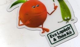 Magnets Magnet Fruit Peche Eva Lapech - Magnets