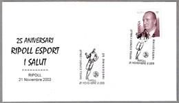 DEPORTE Y SALUD - SPORTS AND HEALTH. Ripoll, Gerona, 2003 - Sellos