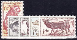 ** Tchécoslovaquie 1959 Mi 1153-7 (Yv 1037-41), (MNH) - Unused Stamps