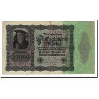 Billet, Allemagne, 50,000 Mark, 1922-11-19, KM:80, TB+ - [ 3] 1918-1933 : Repubblica  Di Weimar