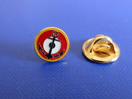 Pin's Insigne Rond Marine - Aéronavale - Cocarde Ancre - Navy (LB32) - Army