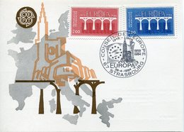 EUROPA CEPT 1984 FRANCE CARTE POSTALE YVERT 2309-2310 - Europa-CEPT