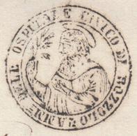 Italy Italia Lombardo-Veneto 1851 OSPITALE CIVICO DI BOZZOLO To MANTOVA (q212) - Lombardo-Veneto