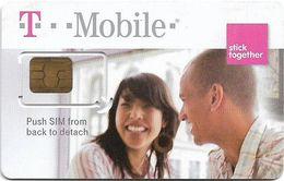 USA - T-Mobile - Stick Together - GSM SIM2 Mini, Mint - United States