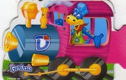 Magnets Magnet Gervais Train Danonimo Puzzle - Lettres & Chiffres