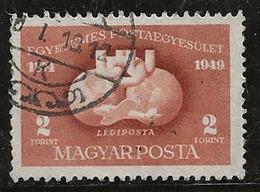 Hongrie 1949-1950 N°Y.T. :  PA. 90 Obl. - Luftpost