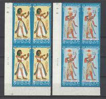EGYPTE. YT  737/740  Neuf **  Journée De La Poste.Costumes Pharaoniques  1969 - Egypt