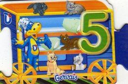 Magnets Magnet Gervais Train Danonimo Puzzle 5 - Lettres & Chiffres