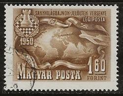 Hongrie 1950 N°Y.T. :  PA. 95 Obl. - Luftpost