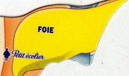 Magnets Magnet Le Gaulois Anatomie Organe Le Foie - Non Classés