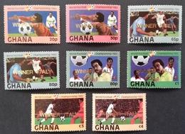 "Ghana 1982  World Cup Espana ""82  Winners Italy - Ghana (1957-...)"