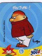 Magnets Magnet Yoco Titeuf  Hugo 4 - Advertising