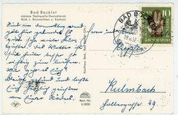 """BAD BOCKLET"" Sonderstempel 1957 EF Nr.239 Postkarte - BRD"