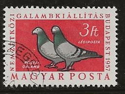 Hongrie 1957 N°Y.T. :  PA. 197 Obl. - Luftpost