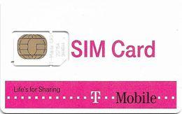 UK - T-Mobile - Life's For Sharing - GSM SIM2 Mini, Mint - United Kingdom