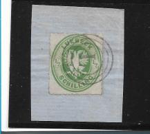 D-Lue001 / Lübeck, Mi.Nr. 8A, 3-Ringstempel Mit L Auf Ausschnitt - Luebeck