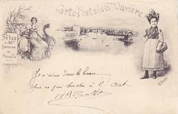 Cpa -13-marseille-fete Du 25e Centenaire-cpa Greve Ouviere - Marseille