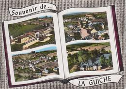 CPSM La Guiche - Souvenir De La Guiche (avec 4 Vues) - France