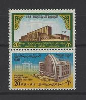 EGYPTE. YT  840-841  Neuf **  Anniversaires  1970 - Neufs