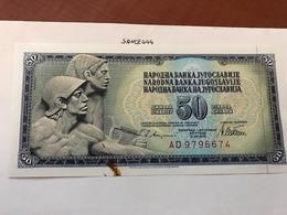 Yugoslavia Jugoslavia 50 Dinara Uncirculated Banknote 1978 - Yugoslavia