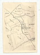 Carte Du Château De FOUROLLES , 89 ,Yonne , MERRY LA VALLEE , 17 X 11.5 - Cartes Géographiques
