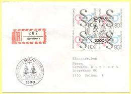 GERMANIA - GERMANY - Deutschland - ALLEMAGNE - 1984 - Gleichberechtigung Von Mann Und Frau - FDC - Bonn - Einschreiben - - [7] Repubblica Federale